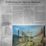 """""""(...) auf der Strecke Zürich-München, für den Anschluss an den europäischen Hochgeschwindigkeitsverkehr, erfordern eine weitere Fahrplanverdichtung, was auf der bestehenden Gleisanlage nicht möglich ist."""""""