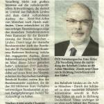 """Blättle 18.07.2013 """"Neue Chancen: Bahnausbau in Richtung München"""""""