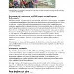 """VN 30.07.2013 """"Sturm und heiße Argumente"""""""