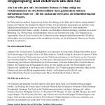 Doppelspurig und elektrisch um den See, Tagblatt Online 24.03.2014
