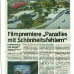 """Filmpremiere """"Paradies mit Schönheitsfehlern,  VN 06.03.2014"""
