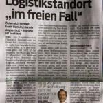 """Logistikstandort """"im freien Fall"""", 03.04.2014 VN"""