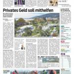 Privates Geld soll mithelfen, 22.12.2014 - VN