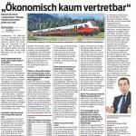 """Ökonomisch kaum vertretbar"", 27.01.2015 - VN"