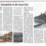 Mit der Dampflok in die neue Zeit (Teil2), 19.01.2015 -VN
