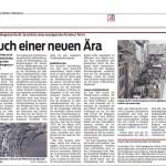 Hauch einer neuen Ära (Teil4), 31.01.2015 - VN