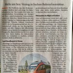 Zuh fährt Richtung München ab, 11.11.2017 - VN