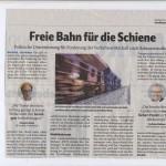 Freie Bahn für die Schiene, 11.01.2019 - VN