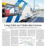 Lange Fahrt zur S-Bahn ohne Grenzen, 21.05.2019 - St. Galler Tagblatt