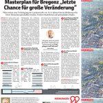 """Masterplan """"letzte Chance für große Veränderung"""", 3.7.2021, VN"""